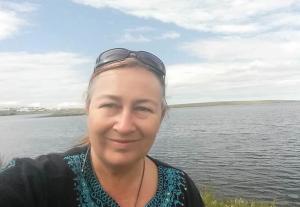 Tracey M Benson, at Govnik Beach, Korpúlfsstaðir, Iceland 2016